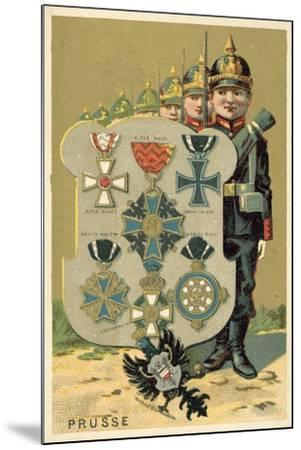 Prussia--Mounted Giclee Print