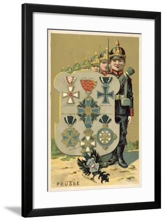 Prussia--Framed Giclee Print