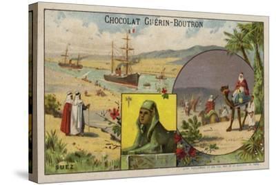 Suez--Stretched Canvas Print