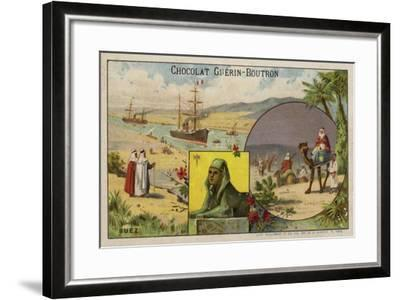 Suez--Framed Giclee Print