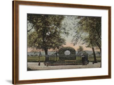 Konstanz, Husenstein, Johannes Hus, Monument--Framed Giclee Print