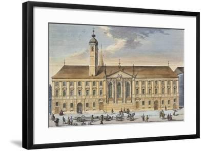 Austria, Vienna, Teutonic Order House and Church of St Elizabeth--Framed Giclee Print