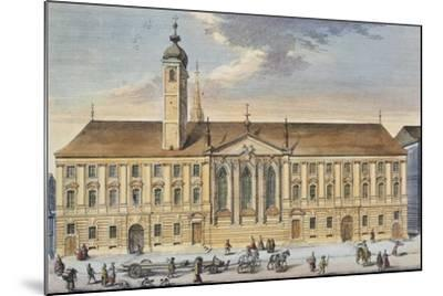 Austria, Vienna, Teutonic Order House and Church of St Elizabeth--Mounted Giclee Print