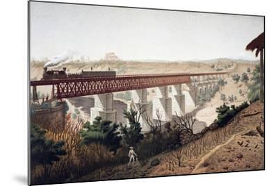 La Soledad Bridge (Veracruz), 1878, Mexico, 19th Century--Mounted Giclee Print