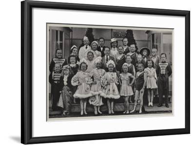 Group of Midgets--Framed Giclee Print