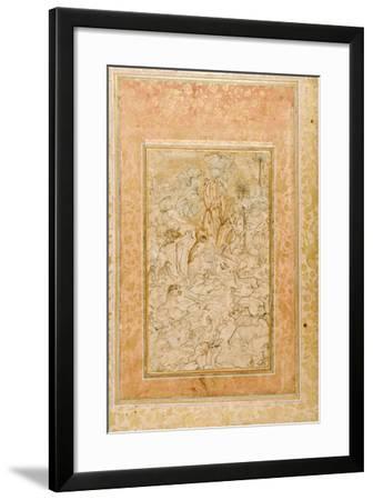 Majnun in the Wilderness, C.1595--Framed Giclee Print