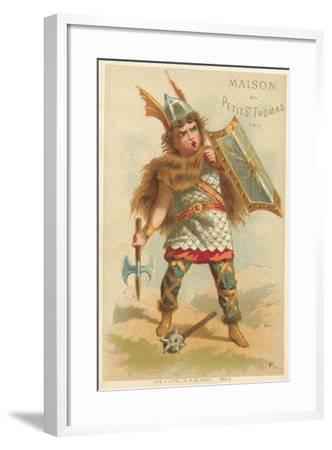 Warrior--Framed Giclee Print