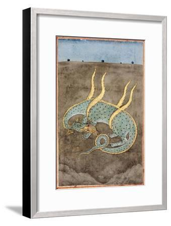 A Dragon Devouring a Woman--Framed Giclee Print