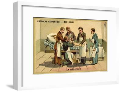 Surgery--Framed Giclee Print