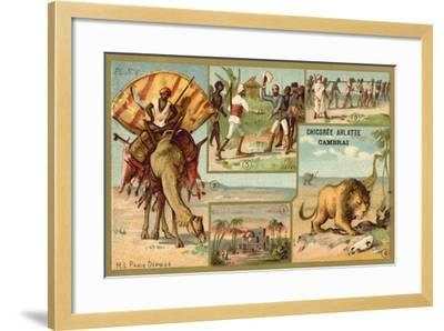 Africa--Framed Giclee Print