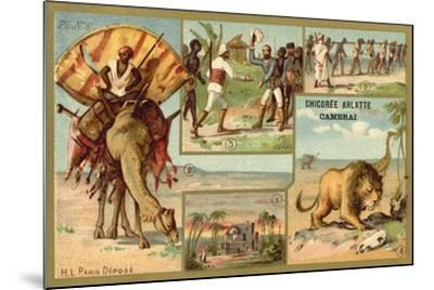 Africa--Mounted Giclee Print