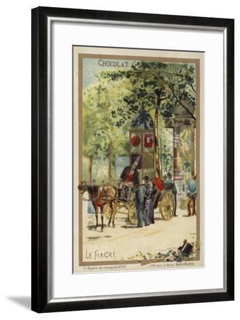 Fiacre--Framed Giclee Print