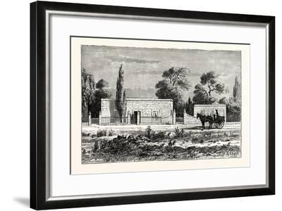 House of a Rich Boer, or Dutch Farmer, South Africa--Framed Giclee Print