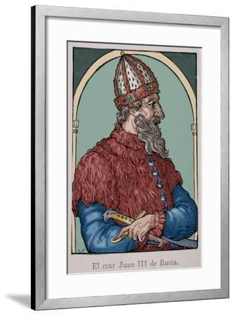 Ivan the Great (1440-1505)--Framed Giclee Print