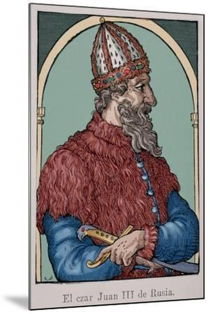 Ivan the Great (1440-1505)--Mounted Giclee Print