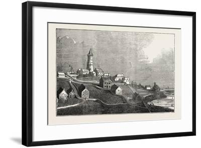 Lighthouse on St. Agnes, One of the Scilly Islands--Framed Giclee Print
