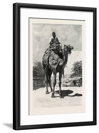 Camel Rider, Egypt, 1879--Framed Giclee Print