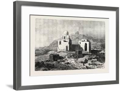 Mosque-Tomb Near Assouan, Egypt, 1879--Framed Giclee Print