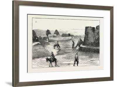 The Russian Expedition to Khiva: the Fort Karak Ata, 1873--Framed Giclee Print