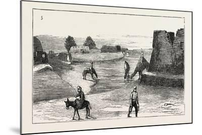 The Russian Expedition to Khiva: the Fort Karak Ata, 1873--Mounted Giclee Print