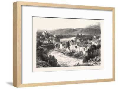 Lauffenberg, Laufenburg, Germany, Switzerland, 19th Century--Framed Giclee Print