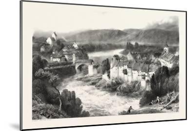 Lauffenberg, Laufenburg, Germany, Switzerland, 19th Century--Mounted Giclee Print