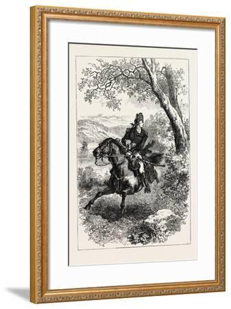 Escape of Benedict Arnold, 1740-1801, USA, 1870S--Framed Giclee Print