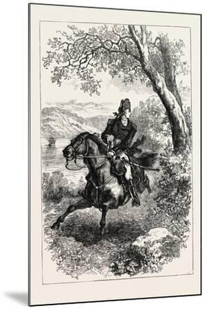Escape of Benedict Arnold, 1740-1801, USA, 1870S--Mounted Giclee Print