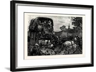 Charles Dickens American Notes 1842 the Malle Poste--Framed Giclee Print
