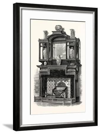 Messrs. G. Trollop and Sons, Chimney Piece, UK--Framed Giclee Print