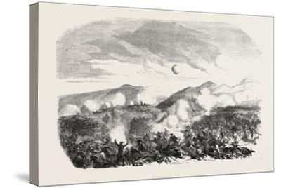 Assault of the Kars, the Crimean War, 1855--Stretched Canvas Print