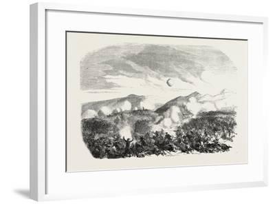 Assault of the Kars, the Crimean War, 1855--Framed Giclee Print