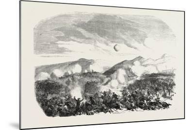 Assault of the Kars, the Crimean War, 1855--Mounted Giclee Print