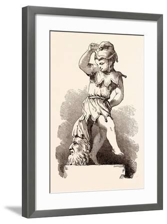 February, Calendar, Year, Month, Monthly--Framed Giclee Print