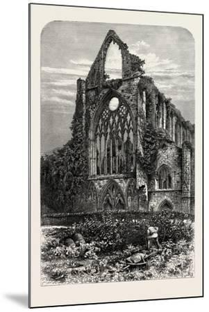 West Front of Tintern Abbey, UK, 19th Century--Mounted Giclee Print