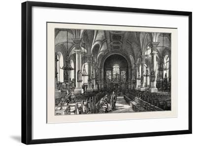 Derby: All Saints' Church, the Interior--Framed Giclee Print