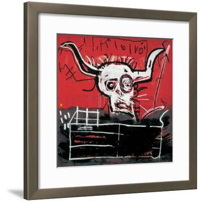 Cabra-Jean-Michel Basquiat-Framed Giclee Print