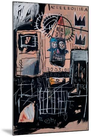 Untitled (Loans)-Jean-Michel Basquiat-Mounted Giclee Print