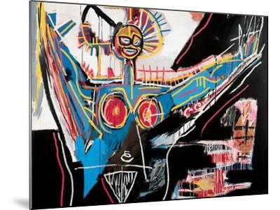 Mater Jean Michel Basquiat Mounted Giclee Print