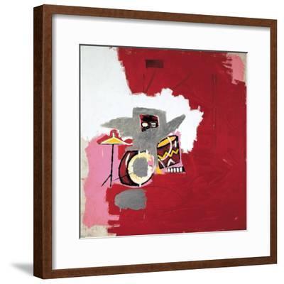 Max Roach-Jean-Michel Basquiat-Framed Giclee Print