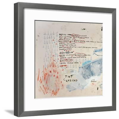 Neu-Jean-Michel Basquiat-Framed Giclee Print