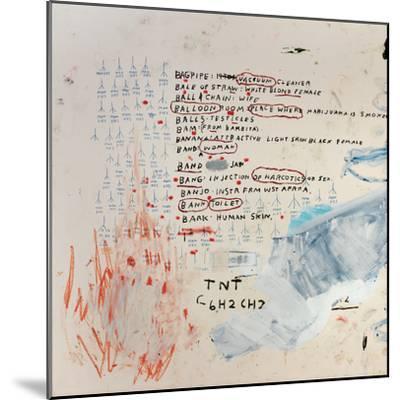 Neu-Jean-Michel Basquiat-Mounted Giclee Print