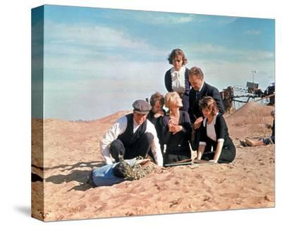 Bonnie and Clyde--Stretched Canvas Print