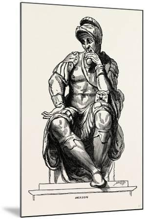 From the Monument of Giuliano De Medici--Mounted Giclee Print