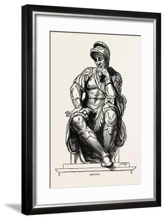 From the Monument of Giuliano De Medici--Framed Giclee Print