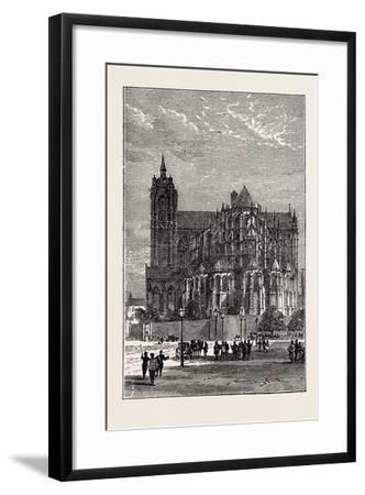 The Cathedral, Le Mans, France, 1871--Framed Giclee Print