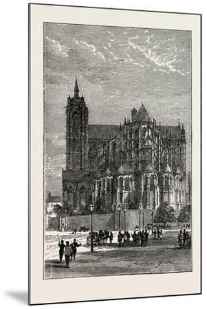 The Cathedral, Le Mans, France, 1871--Mounted Giclee Print