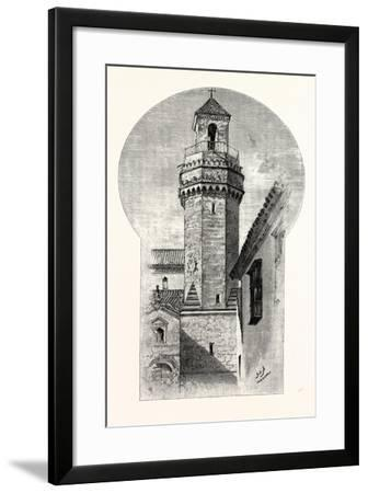 Tower of St. Nicholas, Cordova, Spain--Framed Giclee Print