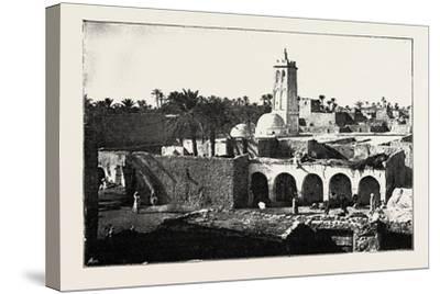 The Mosque of Sidi Okba, Algeria, 1890--Stretched Canvas Print