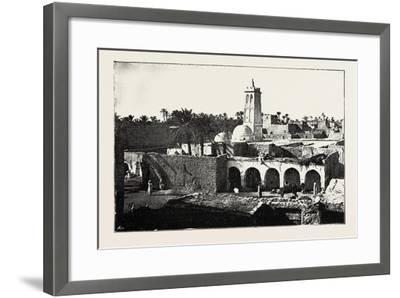 The Mosque of Sidi Okba, Algeria, 1890--Framed Giclee Print